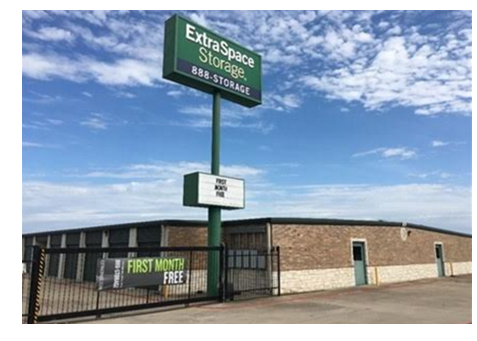 Extra Space Storage Sold In Killeen