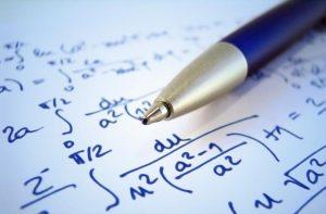 Mathematics and a pen